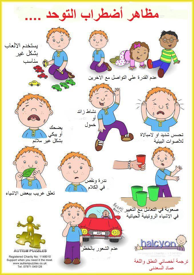 أعراض أضطراب التوحد